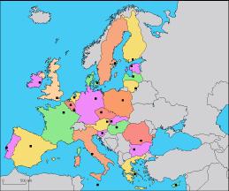 carte europe quiz